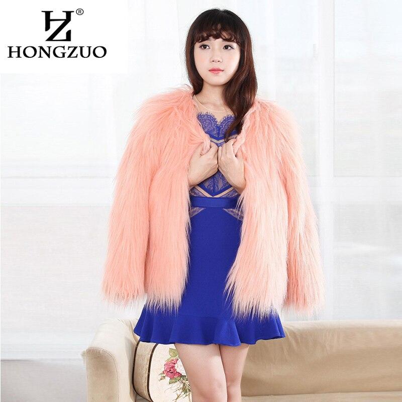 HONGZUO ապրանքանիշ 2017 Ձմեռավոր խիտ տաք - Կանացի հագուստ - Լուսանկար 6