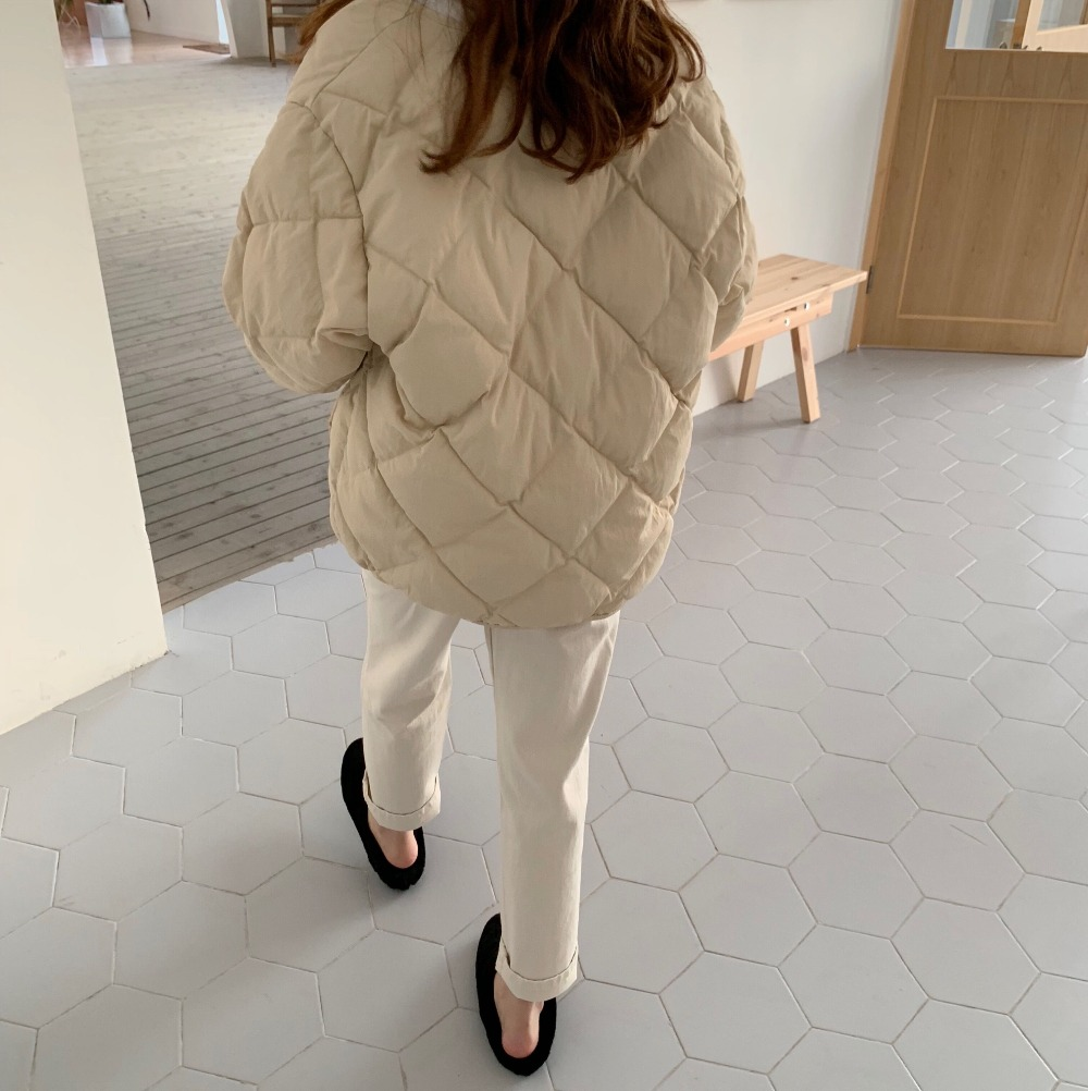 Alien Kitty Winter Fashion Outwear Casual Jackets Solid Tops All-Match Simple Fresh Stylish Warm Women Coat Loose Thicken 8