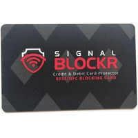 1000 個抗盗難クレジットカードプロテクター Rfid ブロッキングカード 13.56 RFID カード NFC 信号保護パスポート情報