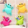 Cute Animal Creative Toothbrush Holder Baby Cartoon Gecko Bird frog Toothbrush Wall Suction Hanger baby Toothbrush Rack