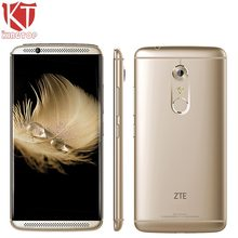 KT Original ZTE Axon 7 A2017 Mobile Phone 4GB RAM 128GB ROM 5.5 inch 2560*1440px 20MP Snapdragon 820 Quad Core Fingerprint NFC