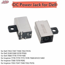 JCD New Laptop DC Jack Power Socket Charging Connector For Dell 11 3000 3148 For Inspiron 15 7000 3148 7347 7348 7359 7352 7353 brand new for dell inspiron 1501 1520 1525 1526 1545 laptop notebook ac dc power jack socket connector free shipping