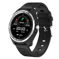 KINGWEAR KW05 bluetooth Calling HR Blood Pressure Monitor Smart Watch Voice Assistant Music Control Weather Forcast Fitness Band