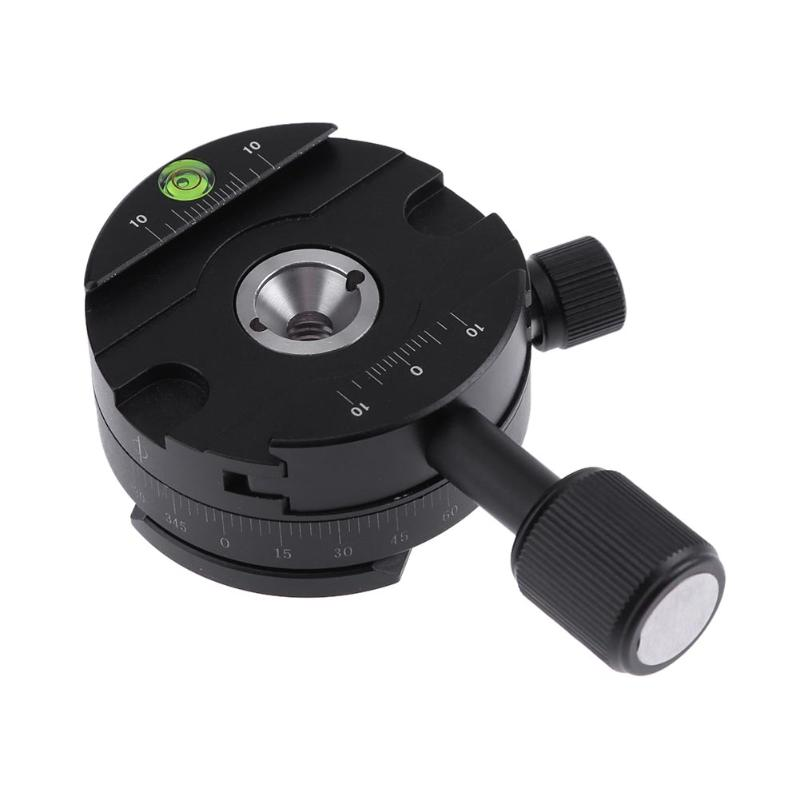 Alloyseed Tripod Ball Head Tripod Monopod Panorama Clamp Quick Release Plate 360 Degree Panorama Panoramic Ball Head ...