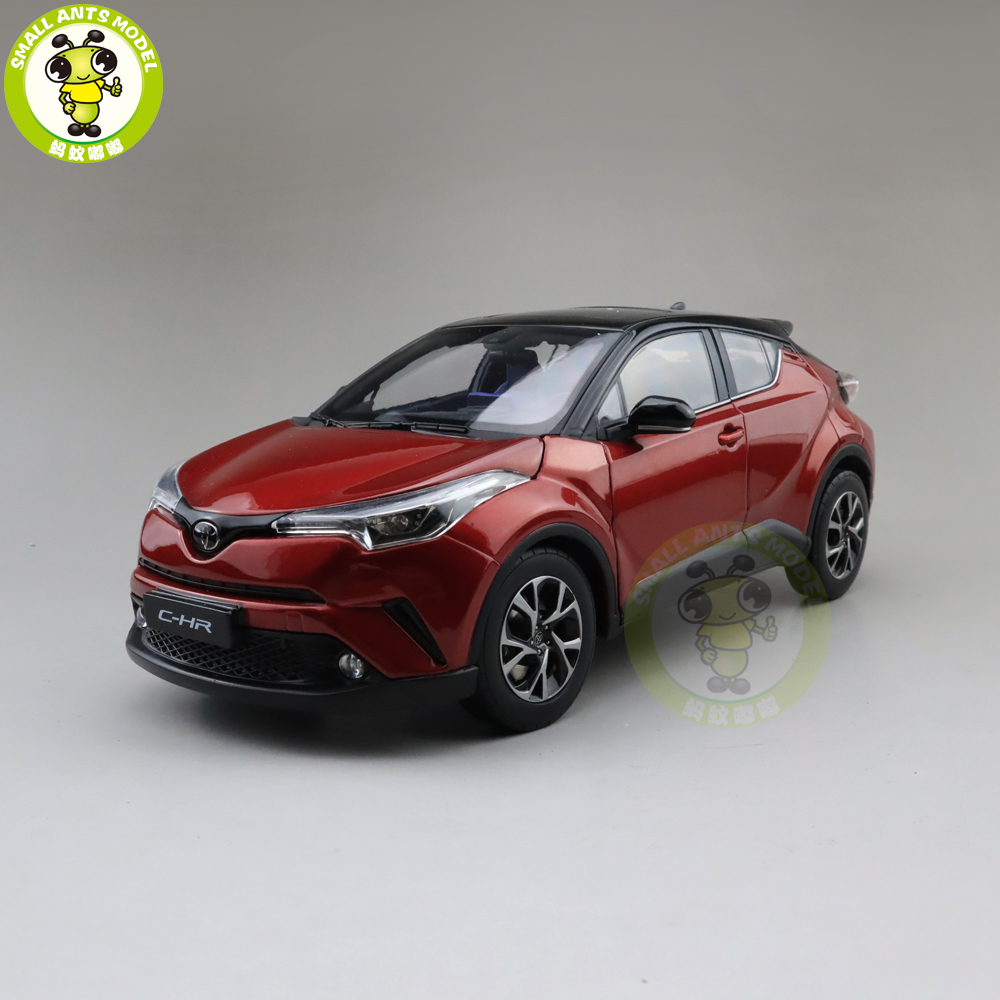 1 18 Toyota CHR C HR Diecast SUV Car Model TOYS KIDS Boy Girl Gift Red