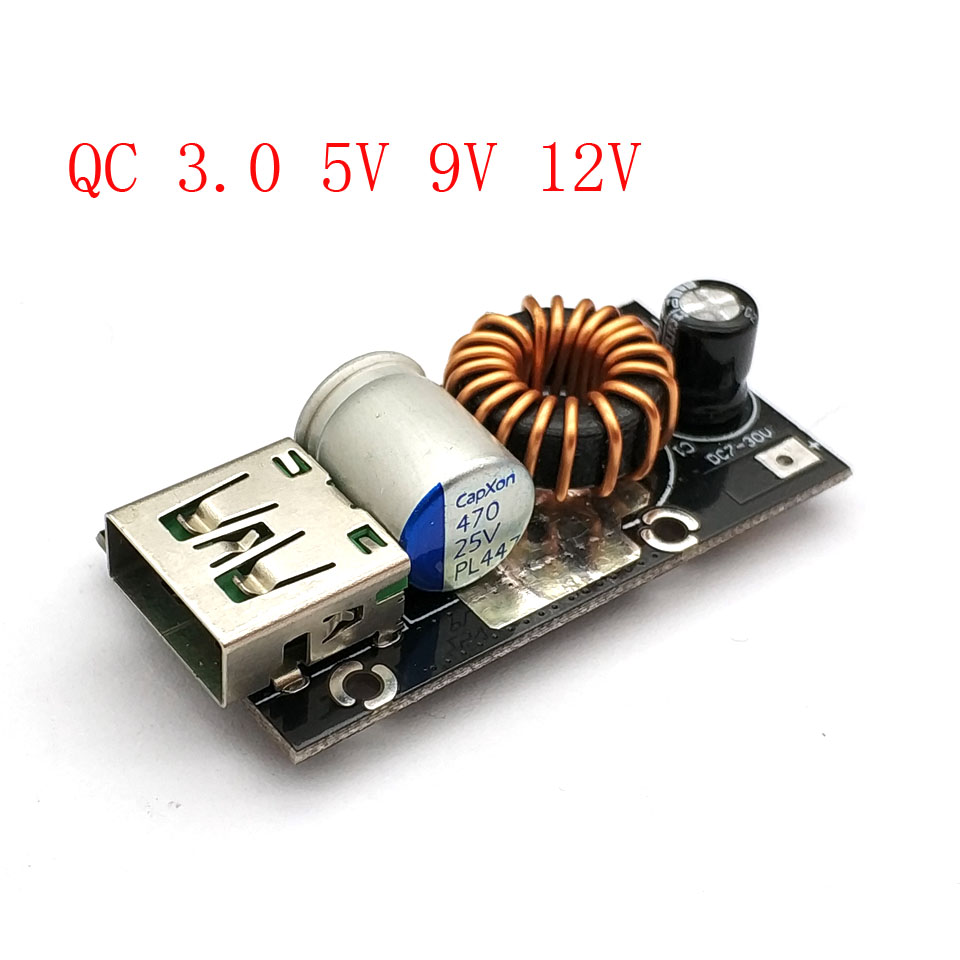 Detail Feedback Questions About Dc Step Down Buck Converter To 5v 30v Charging Module Usb 7 9v 12v 24v Qc30 Qc20 Fast Quick Charger Circuit On