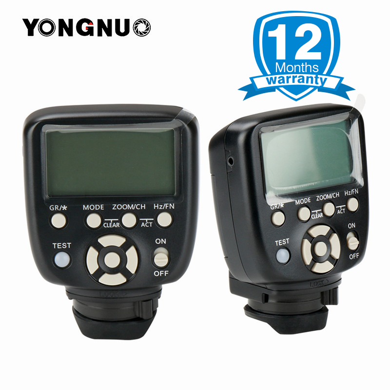 Actualizado YN560-TX II Yongnuo Flash inalámbrico disparador Manual Controlador de Flash para Canon Nikon YN560IV YN660 968N YN860Li para Flash