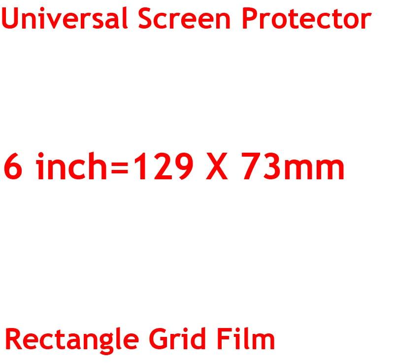 3 sztuk/partia jasne lub matowe uniwersalny ekrany ochronne 5/6/7/8/9/10/11 /12 Cal folie ochronne dla telefonów komórkowych tablet z funkcją telefonu samochód GPS LCD 12