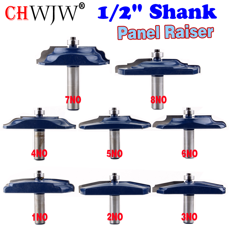 1PC 1 2 Shank Raised Panel Router Bit Ogee Bead Cove Door Ogee Door Wood Cutting
