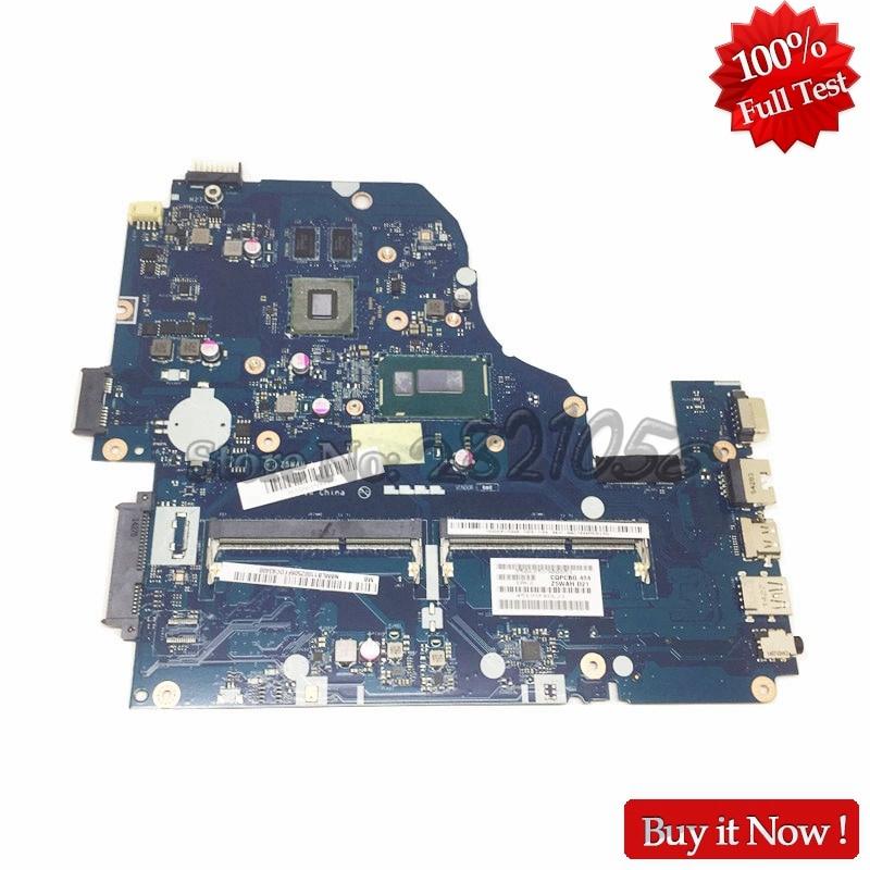 NOKOTION Z5WAH LA-B162P Laptop motherboard For Acer aspire E1-571 E5-571G NBMLB11002 SR1EN I3-4030U 820M nbml811002 z5wah la b161p for acer aspire e5 571p e5 571 mainboard laptop motherboard i3 4030u ddr3l hd graphics