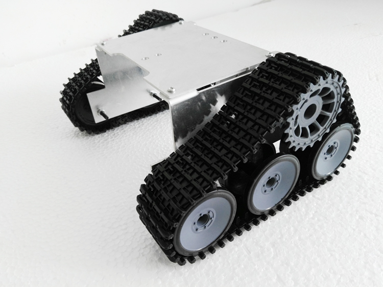 New Version S4 Crawler Off Road Vehicle Smart Robot Tank Car Chassis Test Robot Wall E