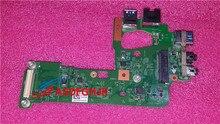 Original Für Dell N5110 AUDIO USB 3.0 Port LAN Ethernet Board 48.4IF04.011 48.1IE14.011 DQ15 TI IO BORD 100% Perfekte arbeit