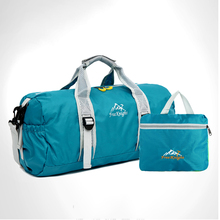 Gym Cycling Foldable Men Woman Waterproof Nylon Bag Outdoor Sport Luggage For Fitness  Yoga Large Capacity Shoulder Travel Bags black training bags large capacity sport bag men for gym outdoor travel luggage storage bag mens fitness single shoulder bag