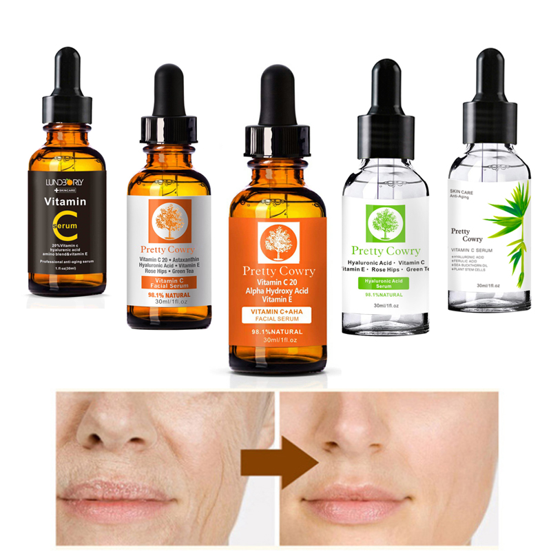 Essence-Serum Remove-Acne-Facial-Cream Skin-Care Vitamin-C Anti-Wrinkle Natural-Face