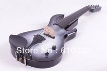 4/4 Electric Violin Solid wood 20--29# white and black color guitar neck 5 string