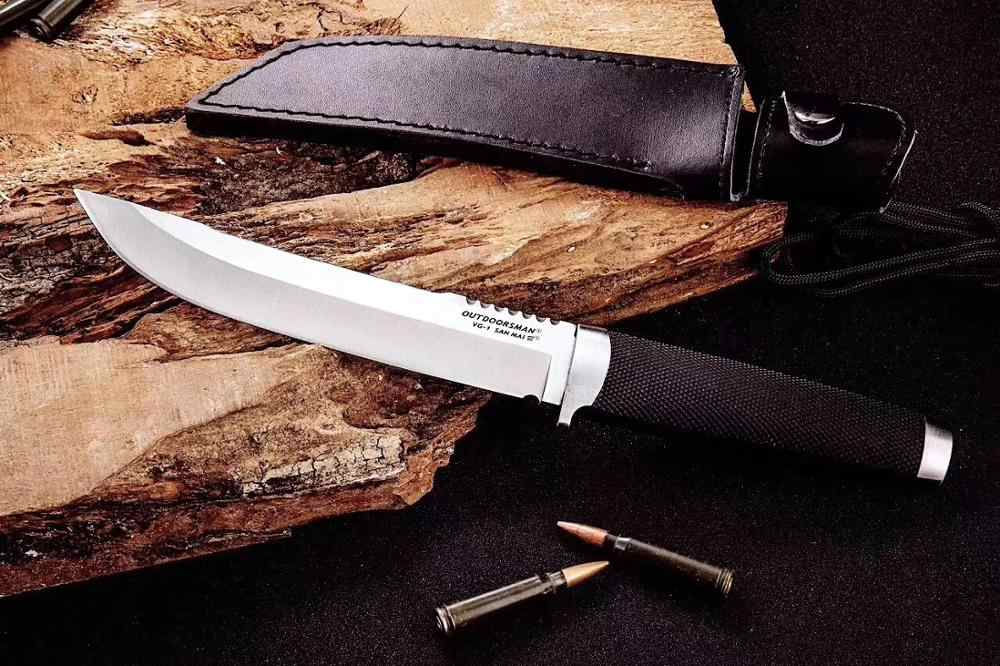Mengoing Koud Staal OUTDOORMAN Jacht Vaste Mes VG-1 Staal Professionele Camping Survival Mes