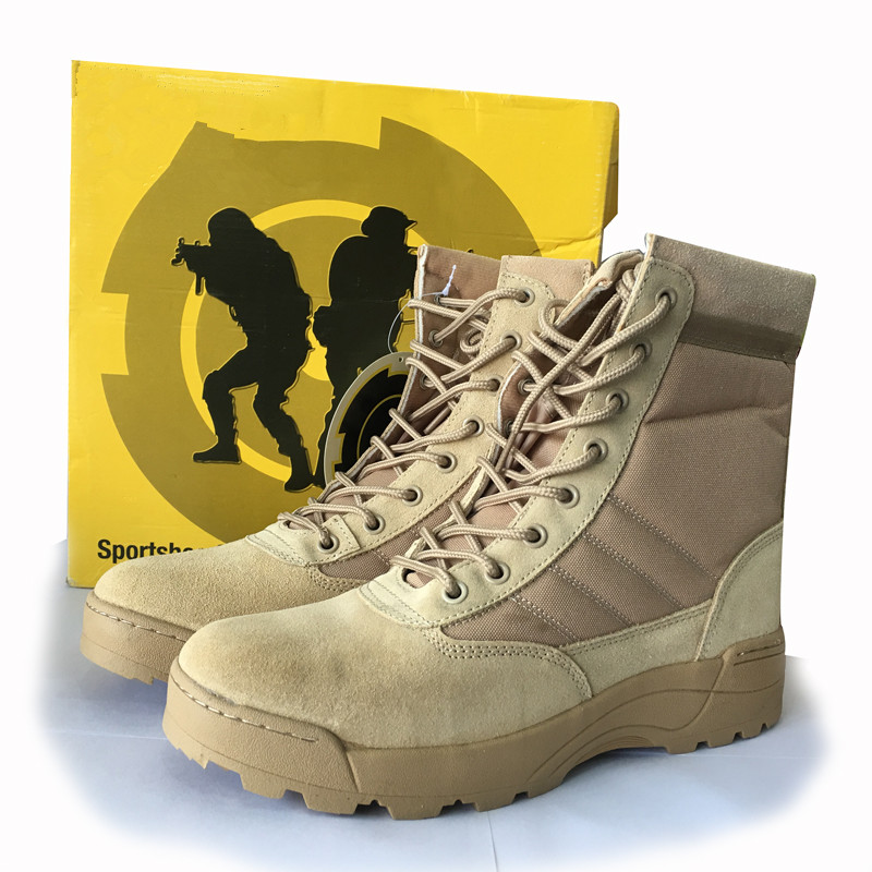 Laite Hebe 2017 New Delta Tactical Military Boots Desert SWAT Combat Boots Outdoor Army Shoes Breathable Camouflage Boots LH201
