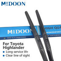 MIDOON Hybrid Wischer Klingen für Toyota Highlander Modell Jahr von 2000 zu 2016
