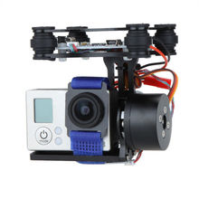 DJI Phantom Brushless Gimbal Camera Frame + 2xMotors +Controller for Gopro3 FPV