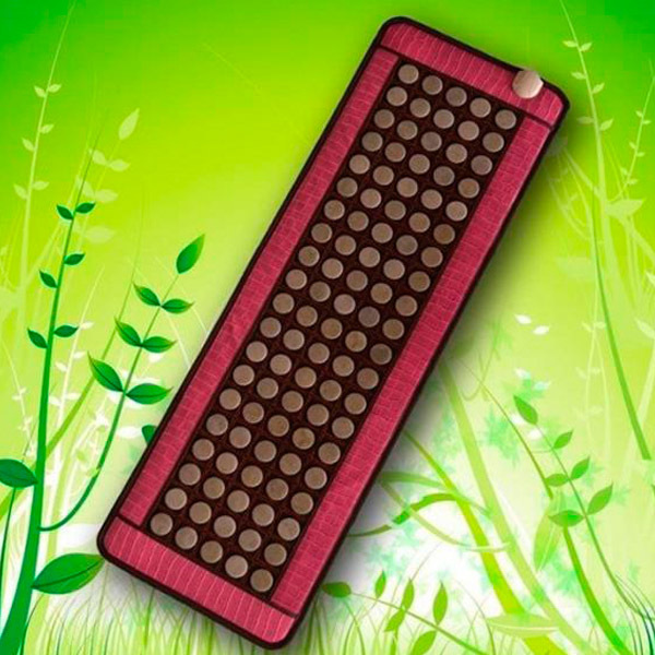 Free Shipping for Germanium Stone Mattress Jade Mattress Heated Magnetic Therapy Tourmaline Mattress Jade Size50*150CM