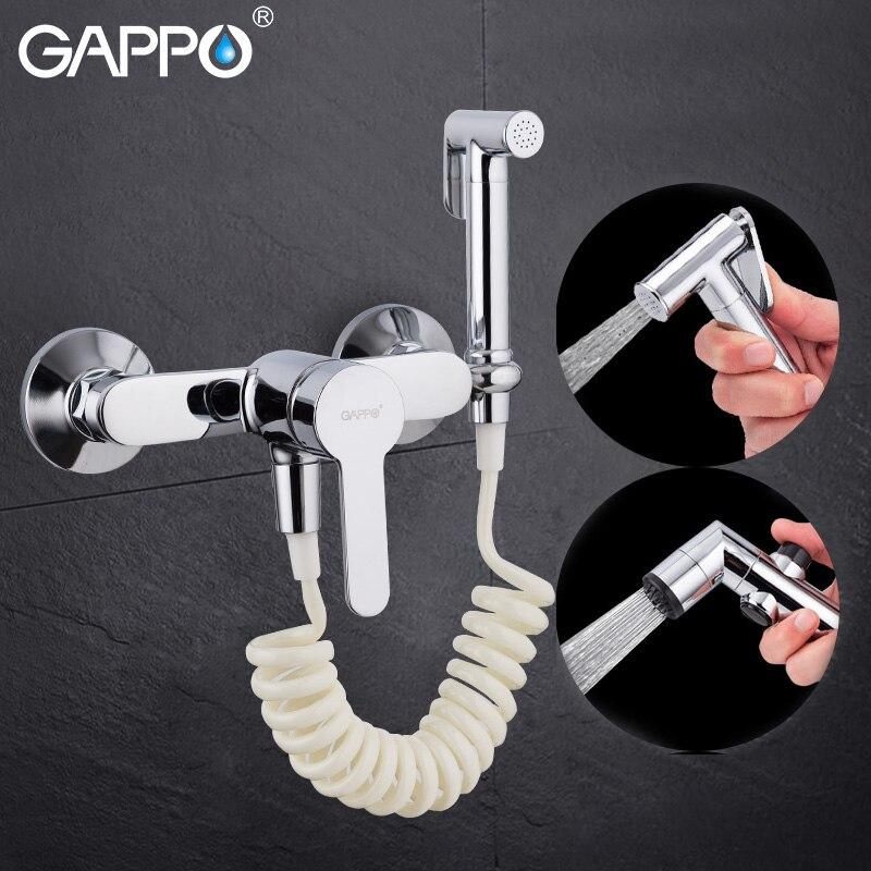 Gappo badewanne wasserhahn bidet wasserhahn hand dusche Badezimmer bidet dusche set Dusche wasserhahn wc bidet Messing wand halterung bad tap