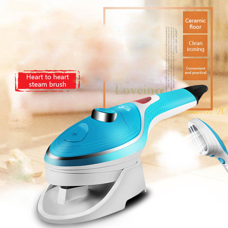 ITAS1207 Handheld Garment Travel Steam Press for Clothes Bedding Fabric Odor removing Dust mites Bed bugs