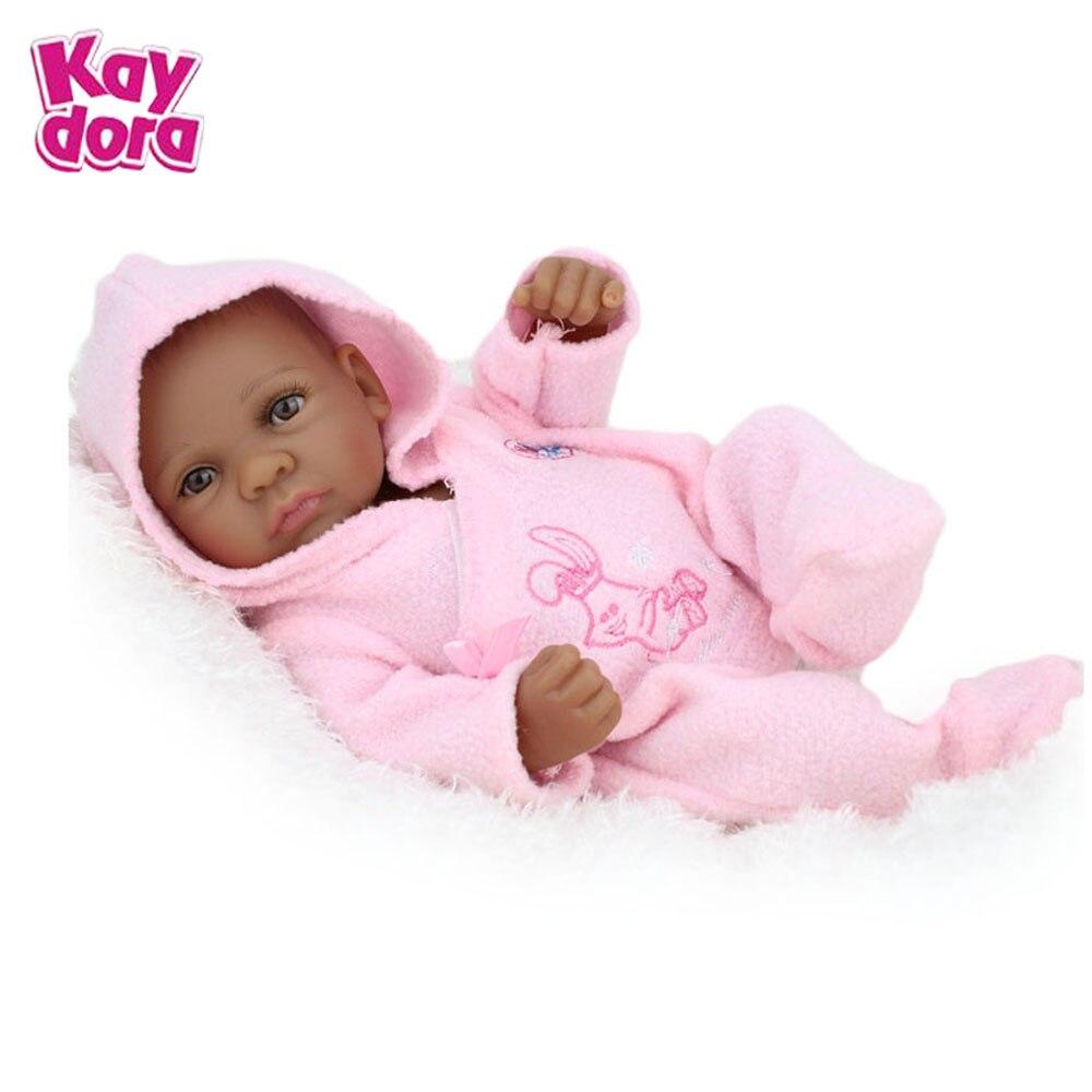 10 Inch 25cm Silicone Reborn Baby Dolls Alive Lifelike