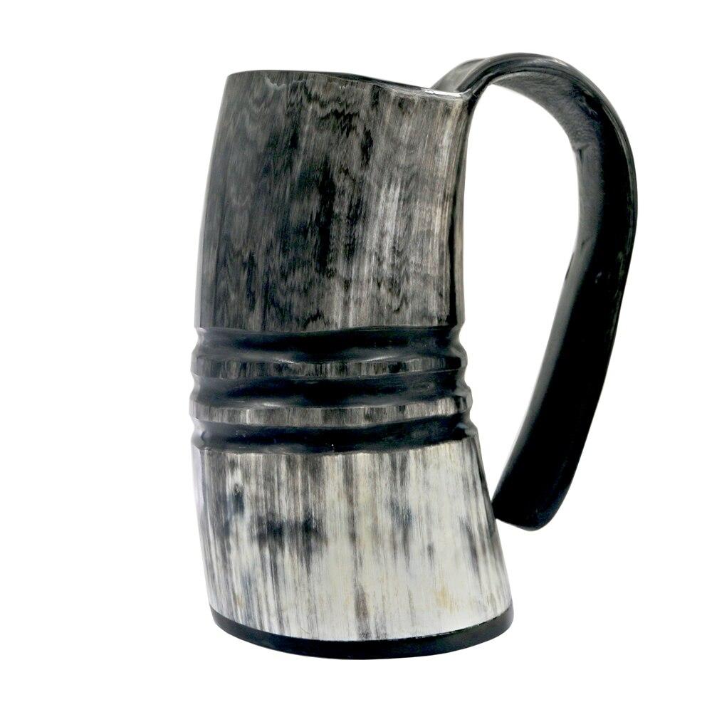 Viking Cup Drinking Horn Tankard Medieval *Unpainted Ceramic Bisque* U-Paint