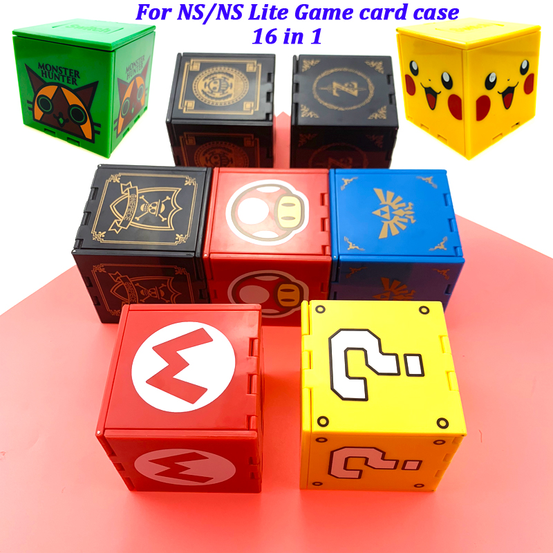 For New Nintendo Switch Lite Accessories Game Card Case for Nintendo Switch Games Cards Box Waterprrof