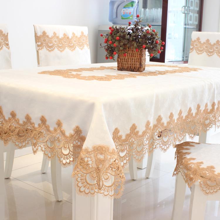 Decorative Home Decor Textile Towels Table Cloth Lace Tablecloth Rectangular Round Or Oval Dining Table Cover Table Cloths