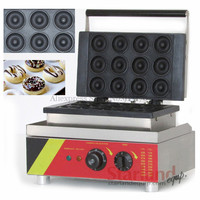 Commercial Donut Machine Doughnut Maker with 12 Donuts Molds 220V and 110V