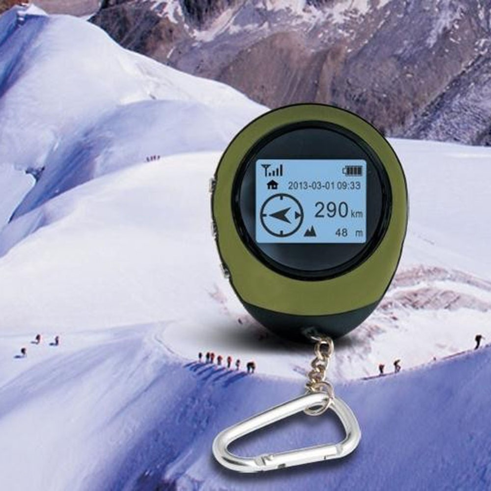 ФОТО Hot Sales Handheld Mini GPS Navigation  Location Tracker with Compass For Outdoor Travel Adventure Climbing