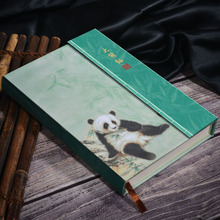 Panda Notebook Cute Panda Cartoon Agenda Leather Scenery Travel Journal Weekly Planner Organizer Diary Plan Book 2019 A6 цена в Москве и Питере