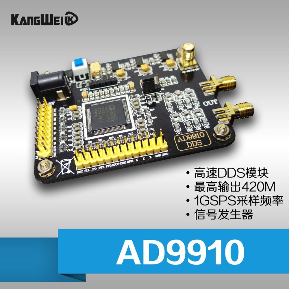 AD9910 high speed DDS module maximum output 1G 420M sampling frequency signal generator development boardAD9910 high speed DDS module maximum output 1G 420M sampling frequency signal generator development board
