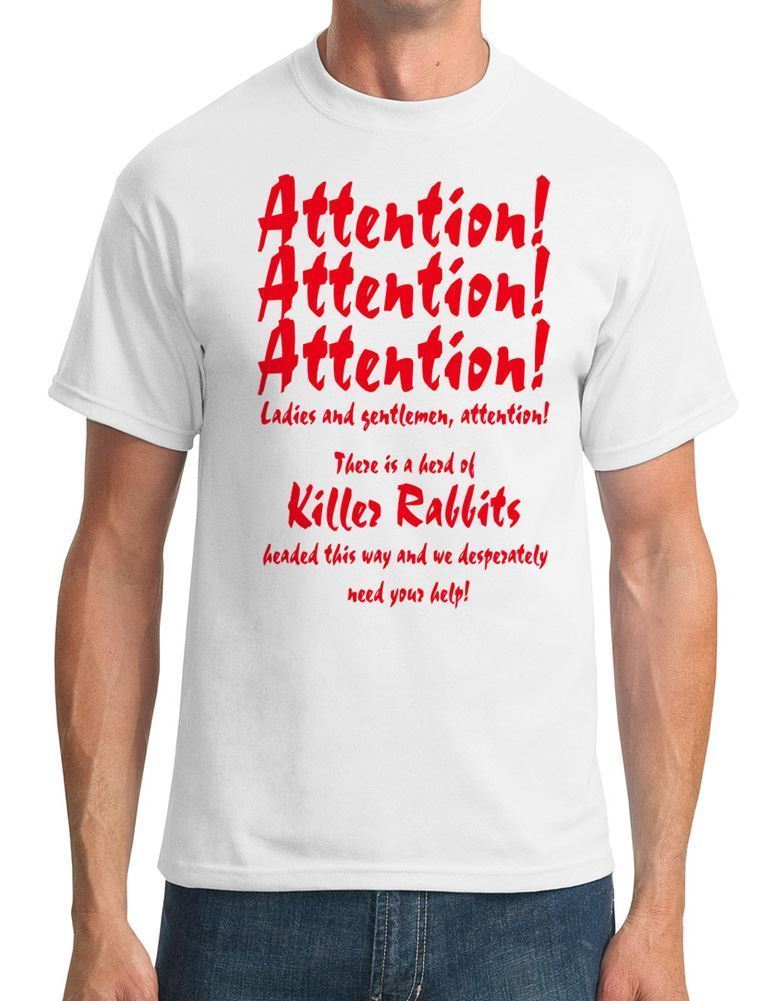 1972 Mens T-Shirt Attention Attention! - Night of the Lepus