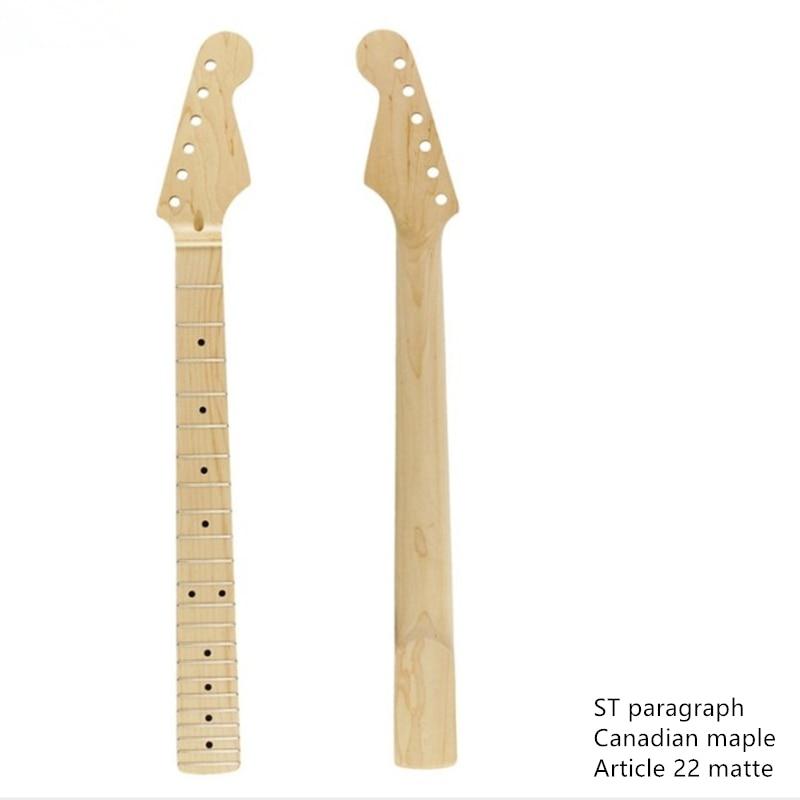 ZONAEL Nouveau Candan Érable touche Guitare Cou pour Guitares Électriques Stand Guitare Pièces Accessoires Instrument de musique