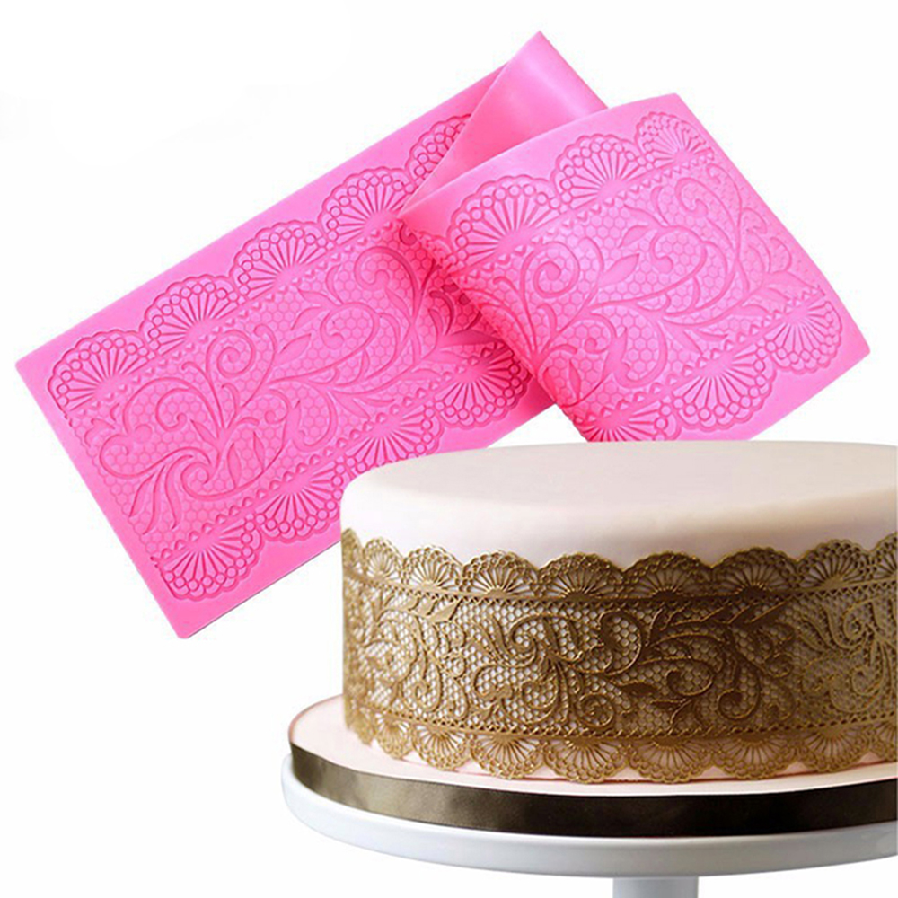 Silicone Mold Cake Lace Mats Mold Silicone Lace Mat