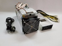 Used BITMAIN Antminer S9 14TH With Power Supply Bitcoin Miner Asic BTC BCH Miner Better Than S11 S15 T15 T9 WhatsMiner M3 M3X