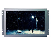 1920*1200 high resolution 10.1 inch 10 points touch capacitive touch monitor open frame lcd monitor mount with BNC/VGA/HDMI