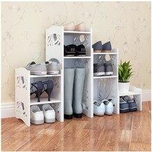 Shoe rack Multilayer simple shoe cabinet Simple modern creative storage rack dustproof