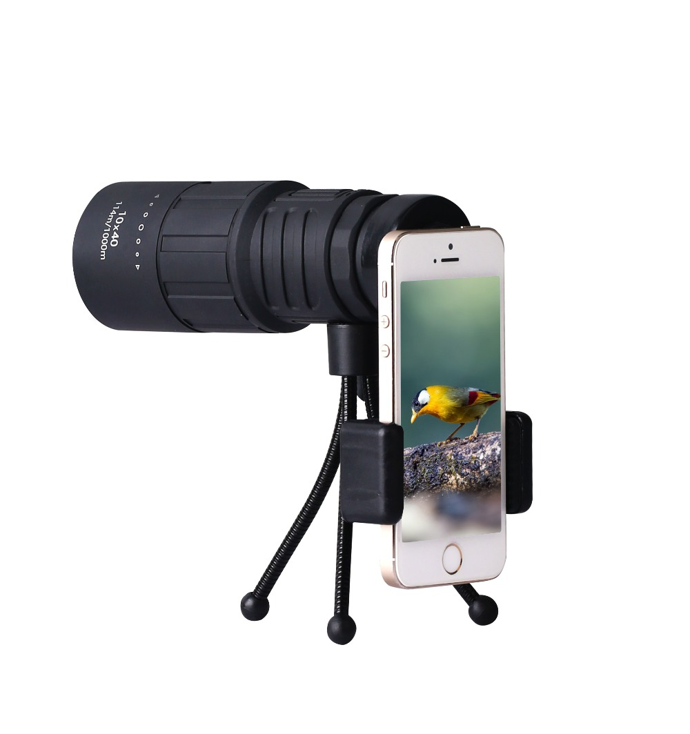 Explorer High Powered SUNCORE 10*40 Monocular.Bright and Clear.Single Hand Focus Waterproof Fog Proof  for Bird WatchingExplorer High Powered SUNCORE 10*40 Monocular.Bright and Clear.Single Hand Focus Waterproof Fog Proof  for Bird Watching