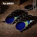 Espelhado Óculos De Sol Das Mulheres dos homens Retro Rodada Do Vintage Óculos Óculos de Esportes Ao Ar Livre