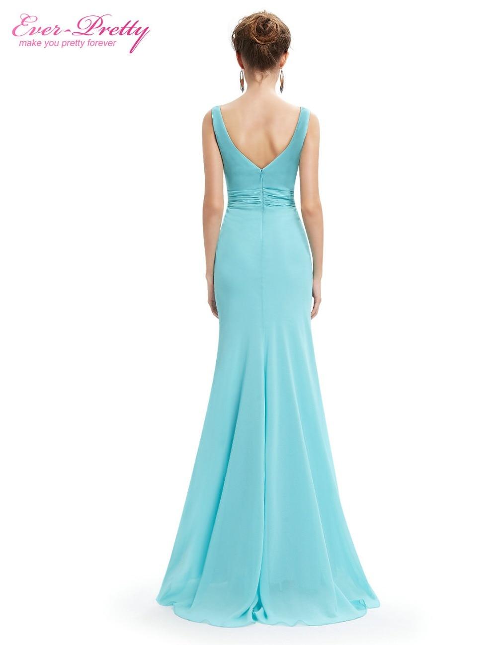 Ever Pretty Evening Dresses EP08732 Women\'s Elegant Light Blue ...