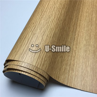 Kitchen Decorative Film Oak Pattern Car Wood Vinyl Film For Wall Furniture Size:1.24X50m/Roll