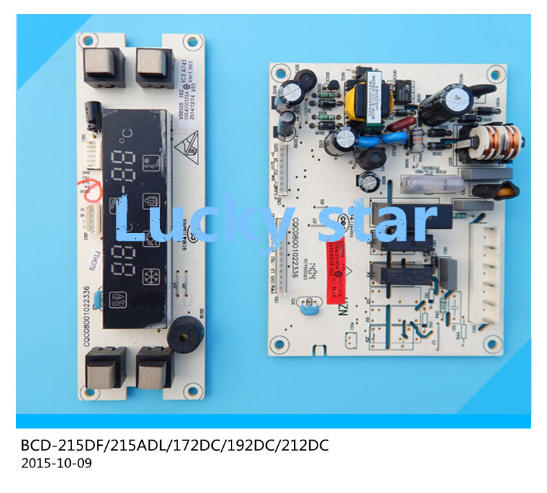 95% new for Haier refrigerator computer board circuit board BCD-215DF 215ADL 172DC 192DC 212DC driver board good working set 95% new for haier refrigerator computer board circuit board bcd 219bsv 229bsv 0064000915 driver board good working