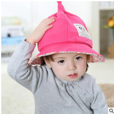 Spring Baby Hat Outdoor Sun Shading Childrens Cap Hat Fisherman Caps 2017 New Fashion Newborn Soft Hats