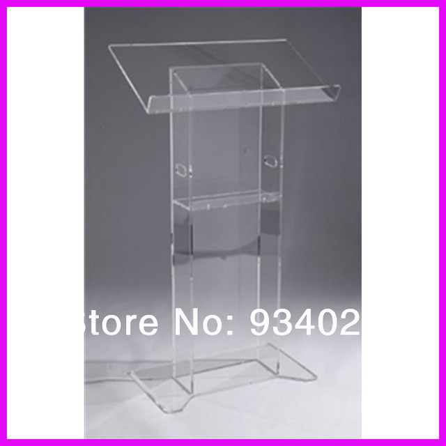 Exquisite Acrylic Lectern Podiums