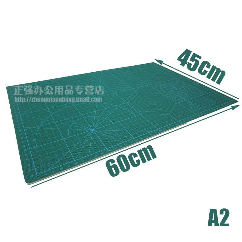 A2 Taglio Zerbino Bordo Verde di Taglio Pad per Scrapbooking, Quilting, cucito e Arts & Crafts Progetti Tapete de Corte 60 cm x 45 cm