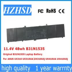 11.4 V 48wh oryginalny B31N1535 Laptop bateria do ASUS UX310 UX310UA UX310UQ UX410UA UX410UQ w Akumulatory do laptopów od Komputer i biuro na