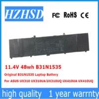 11.4V 48wh Original B31N1535 Laptop Battery For ASUS UX310 UX310UA UX310UQ UX410UA UX410UQ|Laptop Batteries| |  -